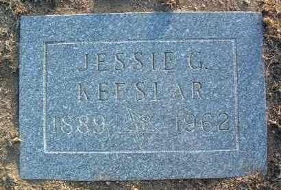 BROWN KEESLAR, JESSIE G. - Yavapai County, Arizona | JESSIE G. BROWN KEESLAR - Arizona Gravestone Photos