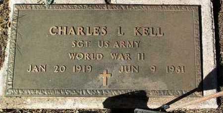 KELL, CHARLES L. - Yavapai County, Arizona | CHARLES L. KELL - Arizona Gravestone Photos