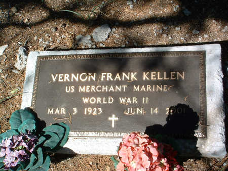 KELLEN, VERNON FRANK - Yavapai County, Arizona | VERNON FRANK KELLEN - Arizona Gravestone Photos