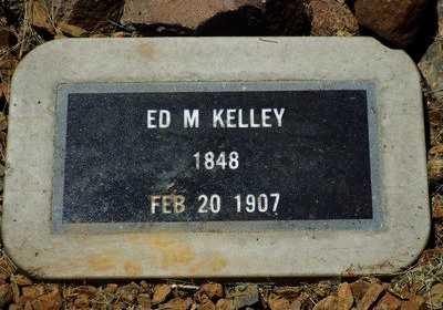 KELLEY, ED M. - Yavapai County, Arizona   ED M. KELLEY - Arizona Gravestone Photos