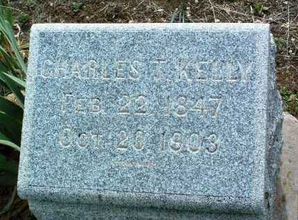 KELLY, CHARLES T. - Yavapai County, Arizona | CHARLES T. KELLY - Arizona Gravestone Photos