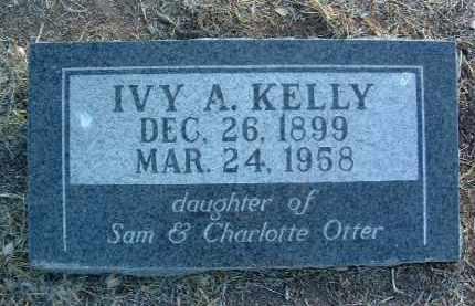 KELLY, IVY A. - Yavapai County, Arizona | IVY A. KELLY - Arizona Gravestone Photos