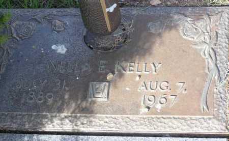 KELLY, NELLA E. - Yavapai County, Arizona | NELLA E. KELLY - Arizona Gravestone Photos