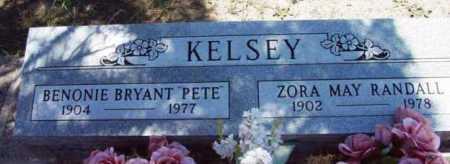 RANDALL KELSEY, ZORA MAY - Yavapai County, Arizona | ZORA MAY RANDALL KELSEY - Arizona Gravestone Photos