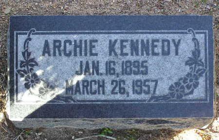 KENNEDY, ARCHIE - Yavapai County, Arizona   ARCHIE KENNEDY - Arizona Gravestone Photos