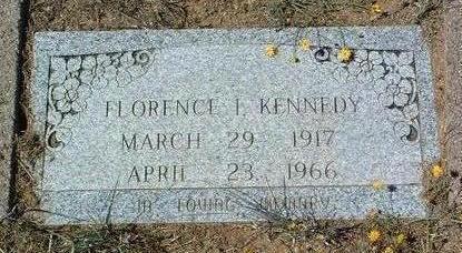 KENNEDY, FLORENCE I. - Yavapai County, Arizona   FLORENCE I. KENNEDY - Arizona Gravestone Photos