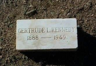 KENNEDY, GERTRUDE L. - Yavapai County, Arizona | GERTRUDE L. KENNEDY - Arizona Gravestone Photos