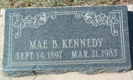 KENNEDY, MAE B. - Yavapai County, Arizona   MAE B. KENNEDY - Arizona Gravestone Photos