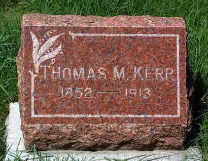 KERR, THOMAS M. - Yavapai County, Arizona | THOMAS M. KERR - Arizona Gravestone Photos