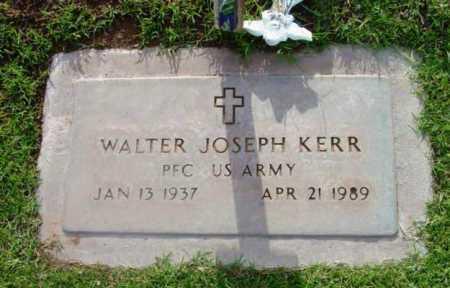KERR, WALTER JOSEPH - Yavapai County, Arizona | WALTER JOSEPH KERR - Arizona Gravestone Photos
