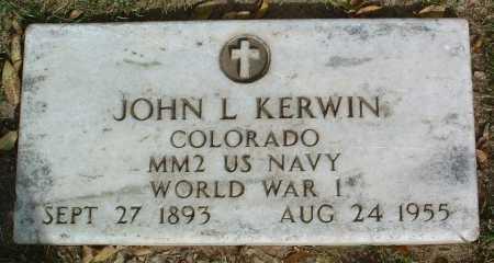 KERWIN, JOHN L. - Yavapai County, Arizona | JOHN L. KERWIN - Arizona Gravestone Photos
