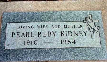 HOLM KIDNEY, PEARL RUBY - Yavapai County, Arizona   PEARL RUBY HOLM KIDNEY - Arizona Gravestone Photos