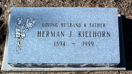 KIELHORN, HERMAN J. - Yavapai County, Arizona | HERMAN J. KIELHORN - Arizona Gravestone Photos