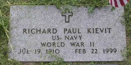 KIEVIT, RICHARD PAUL - Yavapai County, Arizona | RICHARD PAUL KIEVIT - Arizona Gravestone Photos