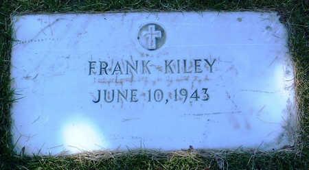 KILEY, FRANK - Yavapai County, Arizona | FRANK KILEY - Arizona Gravestone Photos