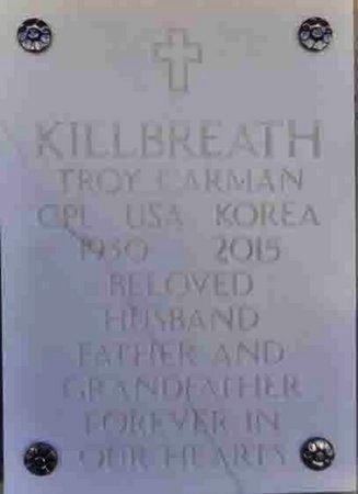 KILLBREATH, TROY CARMAN - Yavapai County, Arizona | TROY CARMAN KILLBREATH - Arizona Gravestone Photos