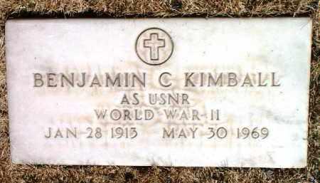 KIMBALL, BENJAMIN C. - Yavapai County, Arizona | BENJAMIN C. KIMBALL - Arizona Gravestone Photos