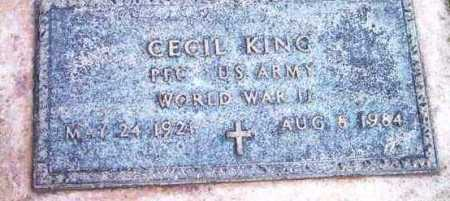 KING, CECIL - Yavapai County, Arizona | CECIL KING - Arizona Gravestone Photos