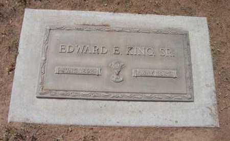 KING, EDWARD E., SR. - Yavapai County, Arizona | EDWARD E., SR. KING - Arizona Gravestone Photos
