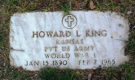 KING, HOWARD  L. - Yavapai County, Arizona | HOWARD  L. KING - Arizona Gravestone Photos