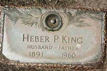 KING, HEBER PHILLIP - Yavapai County, Arizona   HEBER PHILLIP KING - Arizona Gravestone Photos