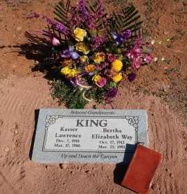 KING, KASSER LAWRENCE - Yavapai County, Arizona | KASSER LAWRENCE KING - Arizona Gravestone Photos