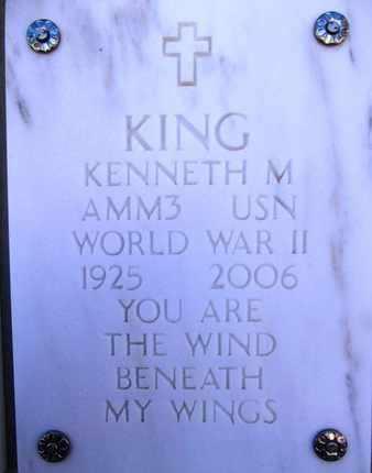 KING, KENNETH MARION - Yavapai County, Arizona | KENNETH MARION KING - Arizona Gravestone Photos