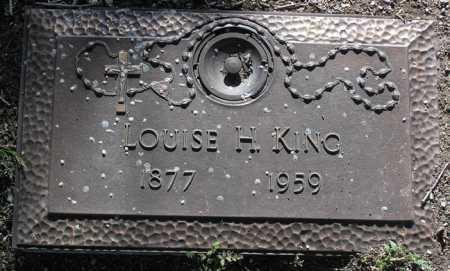 KING, LOUISE H. - Yavapai County, Arizona | LOUISE H. KING - Arizona Gravestone Photos