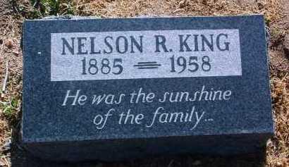 KING, NELSON R. - Yavapai County, Arizona | NELSON R. KING - Arizona Gravestone Photos