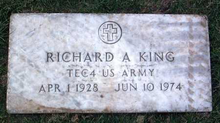 KING, RICHARD ALBERT - Yavapai County, Arizona | RICHARD ALBERT KING - Arizona Gravestone Photos