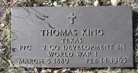 KING, THOMAS - Yavapai County, Arizona | THOMAS KING - Arizona Gravestone Photos