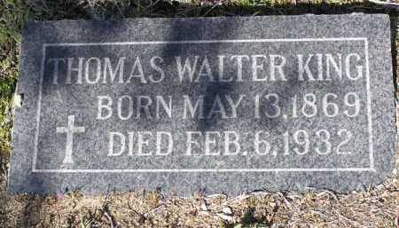 KING, THOMAS WALTER - Yavapai County, Arizona | THOMAS WALTER KING - Arizona Gravestone Photos