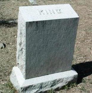 KING, THOMAS ROBERT - Yavapai County, Arizona | THOMAS ROBERT KING - Arizona Gravestone Photos