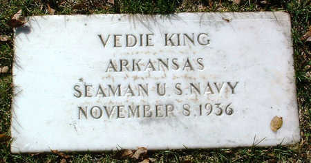 KING, VEDIE - Yavapai County, Arizona | VEDIE KING - Arizona Gravestone Photos