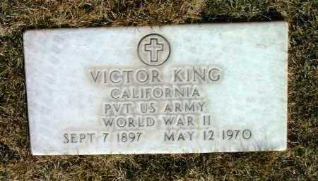 KING, VICTOR - Yavapai County, Arizona | VICTOR KING - Arizona Gravestone Photos