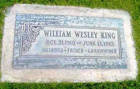 KING, WILLIAM WESLEY - Yavapai County, Arizona | WILLIAM WESLEY KING - Arizona Gravestone Photos
