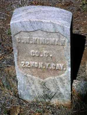 KINGMAN, GEORGE W. - Yavapai County, Arizona | GEORGE W. KINGMAN - Arizona Gravestone Photos