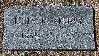 KINNEY, EDNA MYRTLE - Yavapai County, Arizona   EDNA MYRTLE KINNEY - Arizona Gravestone Photos