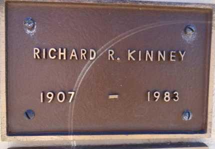 KINNEY, RICHARD RADCLIFF - Yavapai County, Arizona | RICHARD RADCLIFF KINNEY - Arizona Gravestone Photos