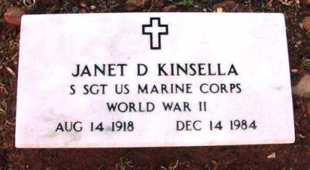 KINSELLA, JANET D. - Yavapai County, Arizona | JANET D. KINSELLA - Arizona Gravestone Photos