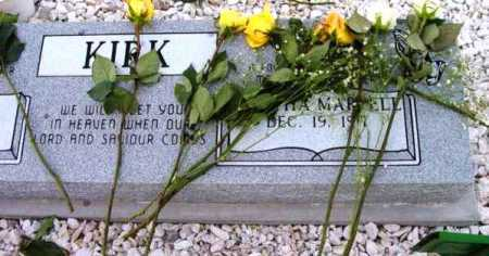 KIRK, MARTHA MARVELL - Yavapai County, Arizona | MARTHA MARVELL KIRK - Arizona Gravestone Photos