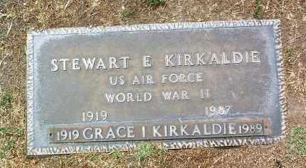 MANOR KIRKALDIE, GRACE I. - Yavapai County, Arizona | GRACE I. MANOR KIRKALDIE - Arizona Gravestone Photos