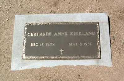 ARNEMAN KIRKLAND, G. A. - Yavapai County, Arizona | G. A. ARNEMAN KIRKLAND - Arizona Gravestone Photos