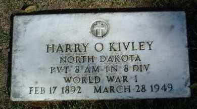 KIVLEY, HARRY O. - Yavapai County, Arizona | HARRY O. KIVLEY - Arizona Gravestone Photos