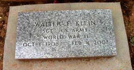 KLEIN, WALTER F. - Yavapai County, Arizona | WALTER F. KLEIN - Arizona Gravestone Photos
