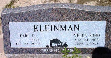 BOND KLEINMAN, VELDA - Yavapai County, Arizona | VELDA BOND KLEINMAN - Arizona Gravestone Photos