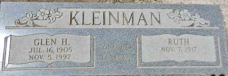 KLEINMAN, GLEN H. - Yavapai County, Arizona | GLEN H. KLEINMAN - Arizona Gravestone Photos