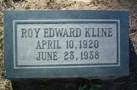 KLINE, ROY EDWARD - Yavapai County, Arizona | ROY EDWARD KLINE - Arizona Gravestone Photos