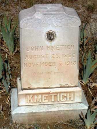 KMETICH, JOHN FREDERICK - Yavapai County, Arizona | JOHN FREDERICK KMETICH - Arizona Gravestone Photos
