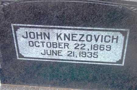 KNEZOVICH, JOHN - Yavapai County, Arizona | JOHN KNEZOVICH - Arizona Gravestone Photos